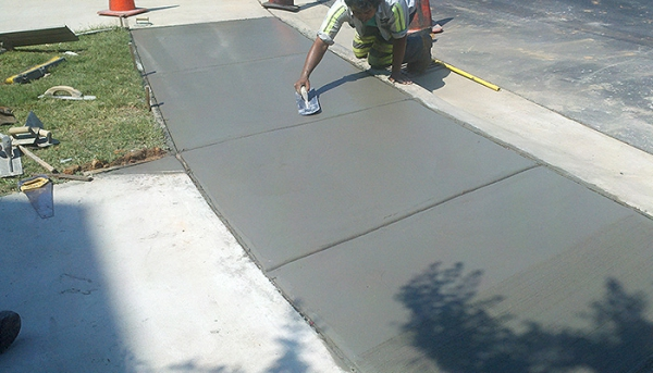 We Provide Concrete Repairs For Parking Lots And Driveways