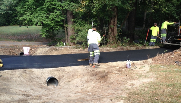 Driveway Amp Parking Lot Drainage Issues Patch Pros In Raleigh
